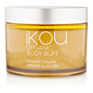 IKOU ITALIAN ORANGE & JOJOBA ORGANIC BODY BUFF 300G