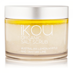 IKOU LEMON MYRTLE & LIME ORGANIC BODY SCRUB 300G
