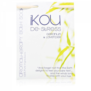 IKOU 100% NATURAL BATH SOAK DE-STRESS 125G